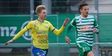 Rapid gewinnt ersten Test, Austria startet mit Pleite