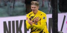3:1! Haaland schießt mit Doppelpack Leipzig ab