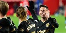 Messi trifft doppelt! Barcelona feiert 4:0-Kantersieg