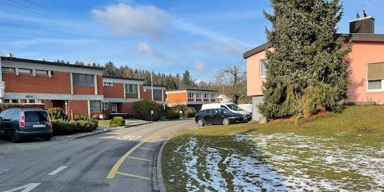 Der Unfall ereignete sich im Quartier Rütiweg in der Schweiz.