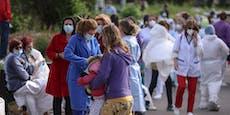 Feuer auf Covid-Station fordert mindestens 9 Todesopfer