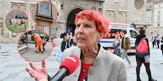 """Wiener Wut-Lady: """"Stadt kriegt Sauferei nicht in Griff"""""""