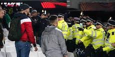 Festnahmen nach Fan-Randalen bei Rapids 0:2-Pleite