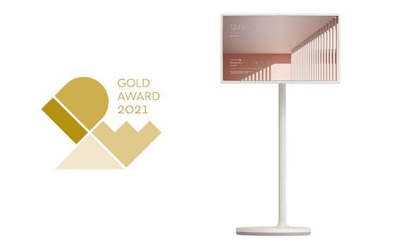 LG Produkte bei den International Design Excellence  Awards 2021 ausgezeichnet.