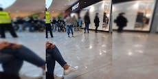 Pepco-Eröffnung in Wien – Kassen-Schlange bis vor Shop