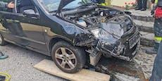Starker Hustenanfall löst Verkehrsunfall aus