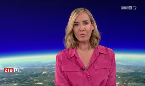 ZiB-Star Nadja Bernhard mit neuer Frisur im TV