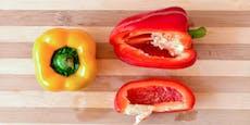 Wir haben Paprika immer falsch geschnitten