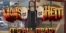 Eminem verkauft alte Pasta auf der Straße