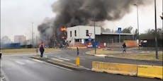 Immo-Tycoon starb bei Flug-Unglück – Gebäude in Flammen