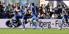3:2! Hartberg stoppt Sturms Erfolgslauf im Derby