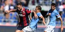 Arnautovic fertigt mit Bologna Top-Klub Lazio ab