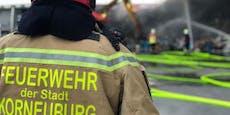 Feuerwehr Korneuburg warnt vor Spenden-Betrügern