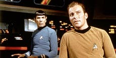 Captain Kirk fliegt mit Bezos-Rakete ins Weltall