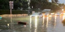 Hier müssen wegen Dauerregen die Schulen schließen