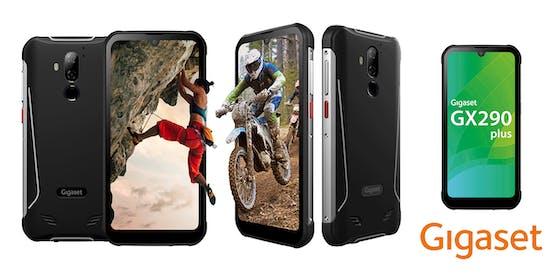 Der neue Publikumsliebling unter den Gigaset Smartphones – gemacht für extreme Einsatzbedingungen im Beruf und bei Outdoor-Aktivitäten