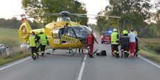 Pkw-Lenkerin nach Crash gegen Baum in Wrack eingeklemmt