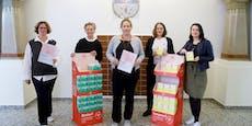 """""""Rote Box"""": Stadt verschenkt nun Binden und Tampons"""