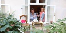 Prickelnde Stadtoase für Wiener Champagner-Fans