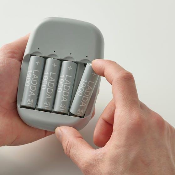 Neue wiederaufladbare Ladda Akkus: Ab Oktober 2021 ist Schluss mit Einweg-Batterien bei Ikea Österreich.