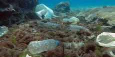 Rund 3.760 Tonnen Plastik schwimmen auf dem Mittelmeer
