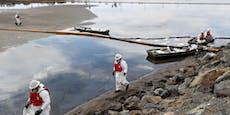 475.000 Liter: Ölpest vor Kalifornien-Küste wird größer