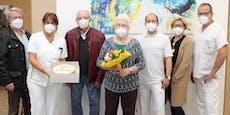 57 Tage auf Intensivstation – Covid-Patientin überlebte