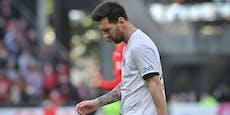 Messi wegen Holligan-Eskalation im Bus gefangen