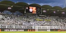 Corona-Alarm nach Fußball-Kracher Sturmgegen Eindhoven