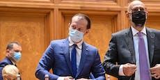 Misstrauensvotum – Rumänische Regierung gestürzt