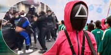 """""""Squid Game""""-Fans stürmen Café und prügeln sich"""