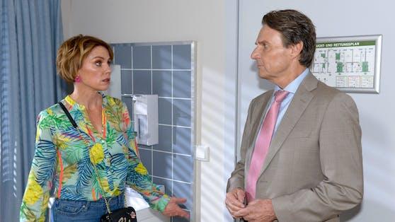 """Yvonne (Gisa Zach) und Jo Gerner (Wolfgang Bahro) in """"Gute Zeiten, Schlechte Zeiten"""""""