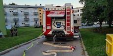 Brand in Wohnung – sechs Bewohner im Krankenhaus