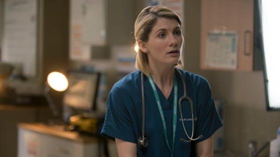 """Jodie Whittaker, die aktuell als Zeitreisende in der Sci-Fi-Serie """"Doctor Who"""" zu sehen ist, spielt eine Krankenschwester in einer Ausnahmesituation."""