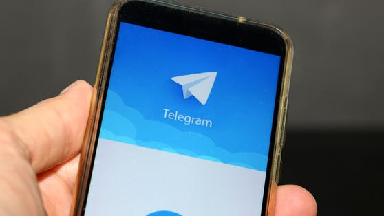 Telegram am Smartphone