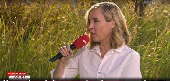 Nadja Bernhard sprach über ihre erste TV-Rolle.