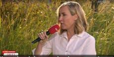 """Nadja Bernhard zu Kleider-Frage: """"Musst Tarek fragen"""""""