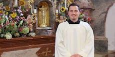 Als studierter Manager (35) das sah, wurde er Pfarrer