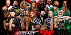 Großer Draft: WWE mischt Kader kräftig durch