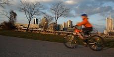 Radfahrer rast 13-Jährige auf Wiener Donauinsel um
