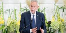"""VdB fordert: Justiz muss """"Verdachtsmomenten nachgehen"""""""