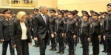 165 neue Polizisten in NÖ von Minister angelobt