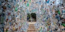 Museum aus Plastikmüll ist neuer Selfie-Spot
