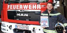 Stift statt Schlauch! Feuerwehrmann malte Kinderbuch