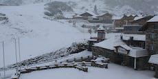 20 cm Neuschnee – So weiß ist jetzt Österreich
