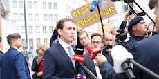 """Kanzler Kurz stellt klar: """"Ich werde mich wehren"""""""