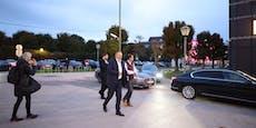 """Doskozil zeigt Anti-Kurz-Demo """"Daumen hoch"""""""