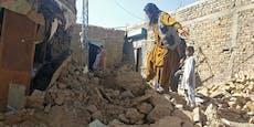 Mindestens 20 Tote bei Erdbeben in Pakistan