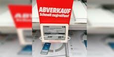 Sale oder Abzocke? Verwirrung in Wiener Elektroshop