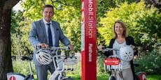 Auf- statt einsteigen! 3.000 Öffi-Leihräder für Wien